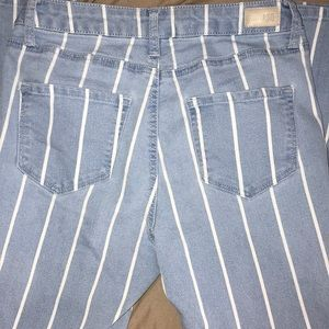 RSQ Jeans - Striped high rise jeans